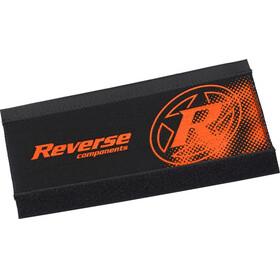 Reverse Kedjestagskydd i neopren Kedjestagsskydd orange/svart